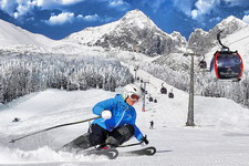 Skiing in the Tatras